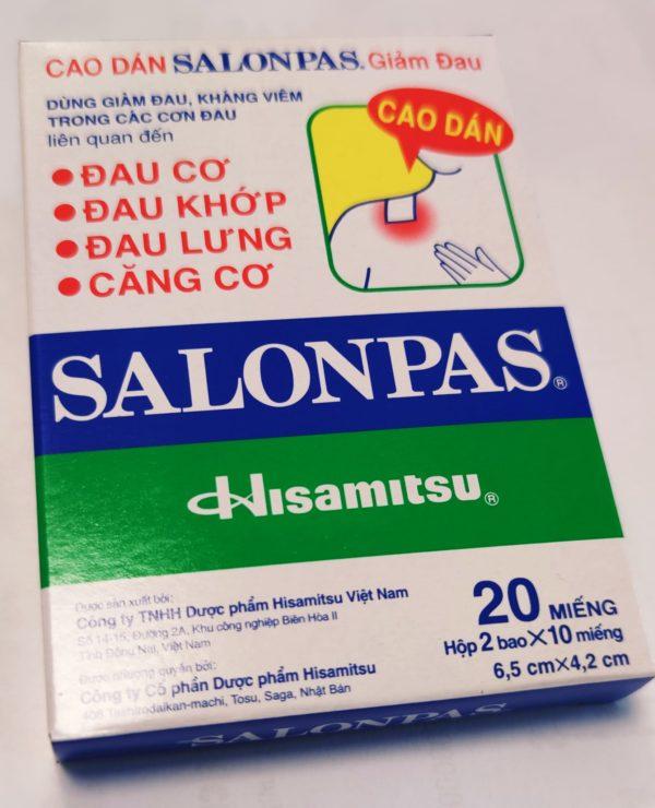 Patchs réchauffant SALONPAS